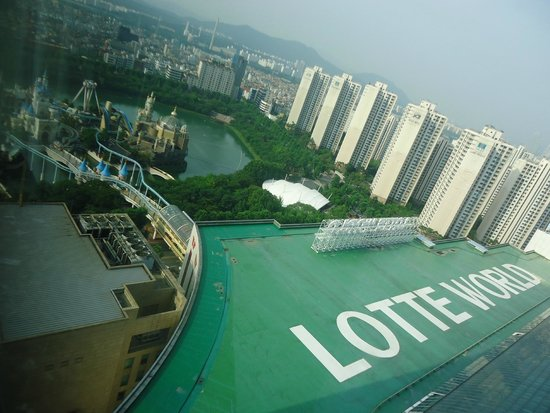 Lotte Hotel World: view from hotel room