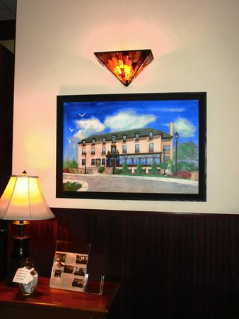 St. Brendan's Irish Inn: A painting of the inn