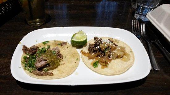 AGAVA Restaurant: Two Taco Examples