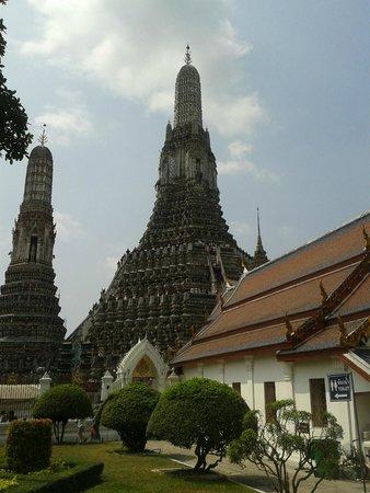 Temple de l'Aube (Wat Arun) : Templo del Amanecer