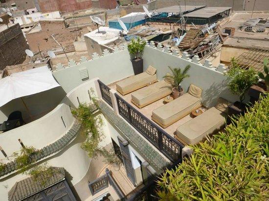 Riad Ambre et Epices: desde la parte mas alta de la riad