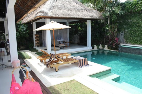 Andari Bali Villas : Villa Sayana-Pool area