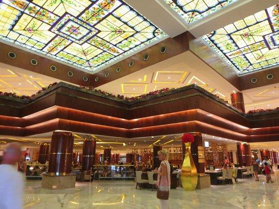 Lobby Of Mp Sunrise Picture Of Moon Palace Cancun Cancun Tripadvisor