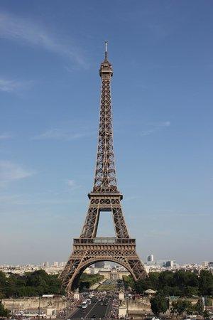 Tour Eiffel : View from the Trocodero