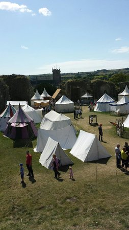 Corfe Castle Medieval village July 28th until August 31st 2014