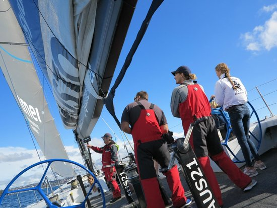 Explore Sailing - America's Cup Sailing Experience : Great crew.