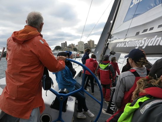 Explore Sailing - America's Cup Sailing Experience : Get to steer the beauty!