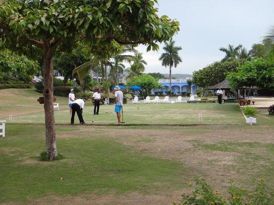 Jamaica Inn: Croquet lawn