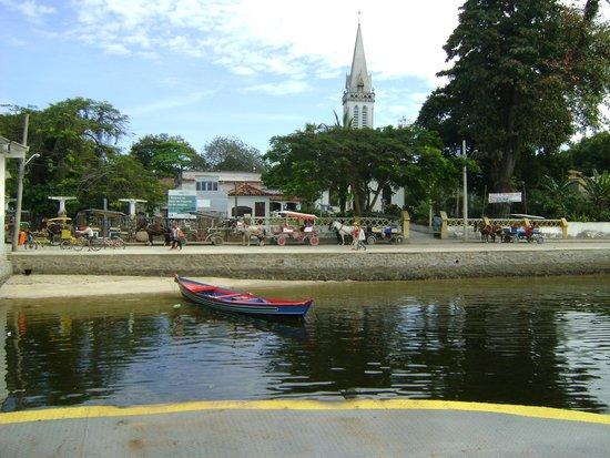 Paqueta Island Beach: Vista da Ilha