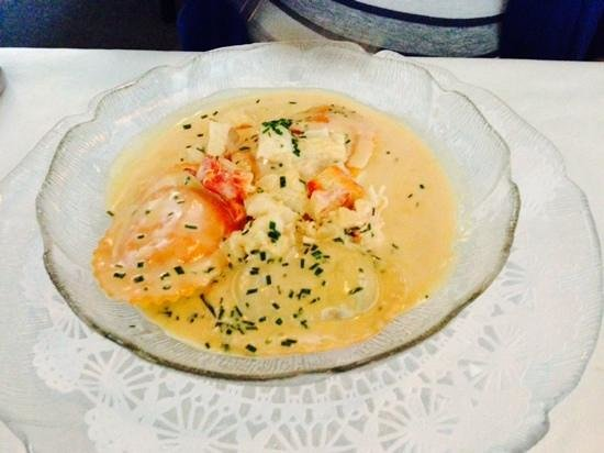 Terry's Place: Lobster ravioli
