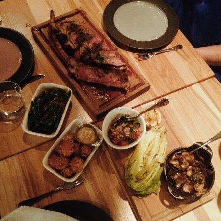 Calgary Bar And Kitchen Tomahawk Steak