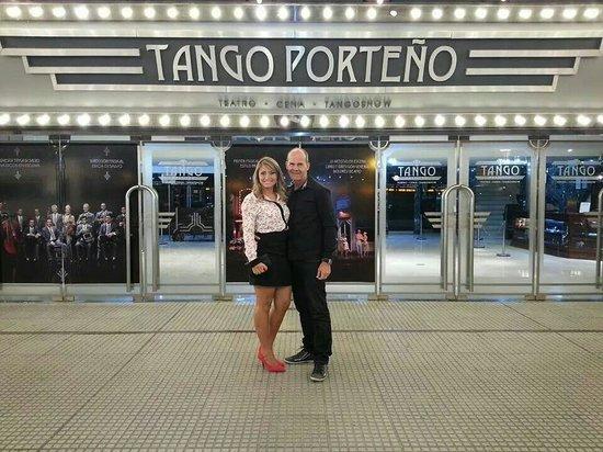 Tango Porteno: Noite maravilhosa!