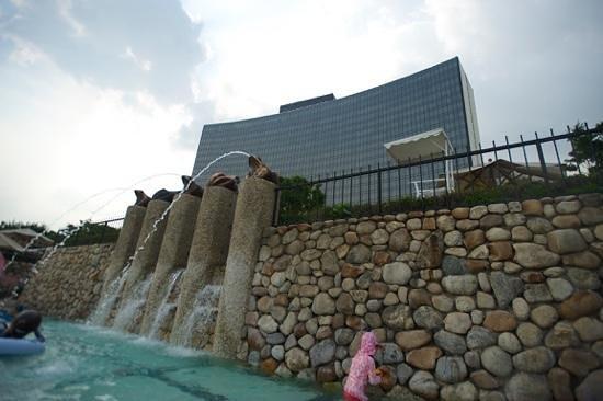 Grand Hyatt Seoul : 그랜드 하얏트 서울 어린이 수영장 전경
