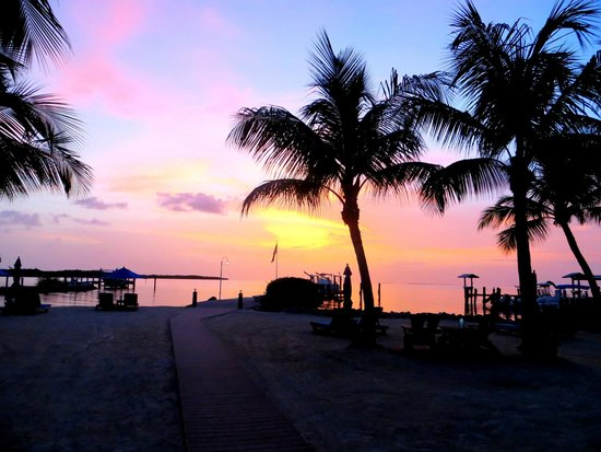 Island Bay Resort: sunset views