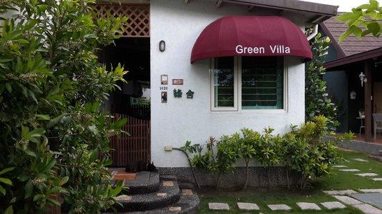 Green Villa: 院落