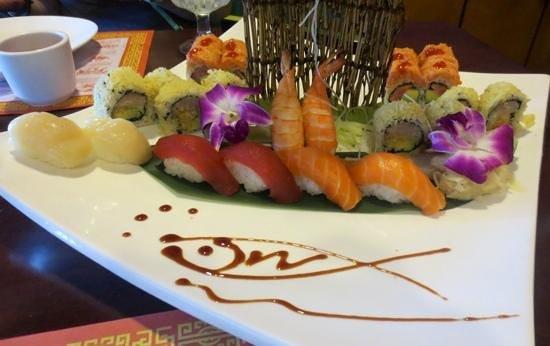 Ginger Garden: Sushi platter