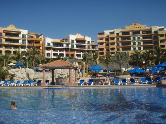 Playa Grande Resort: View from Bottom Pool