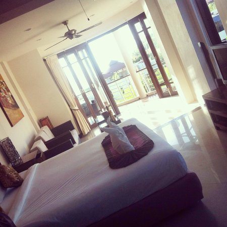 Sunset Hill Resort: Lovely sea view room