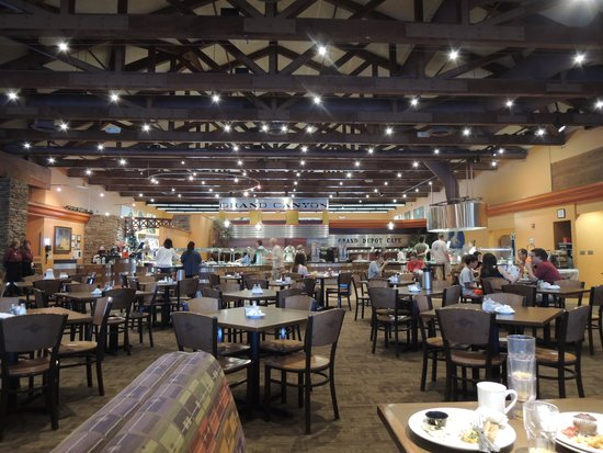 Grand Canyon Railway Hotel: Breakfast at the GCR Hotel buffet