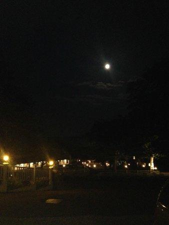 Mount Battie : The night view