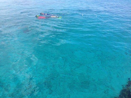 Hotel B Cozumel: El mar del hotel B