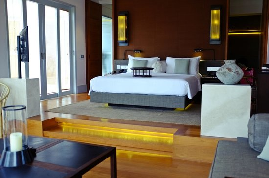 Amatara Resort & Wellness: The comfortable and spacious bed