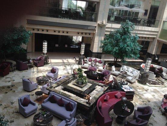 Crowne Plaza Science City: 酒店大堂,感觉很舒服