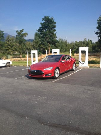 BEST WESTERN PLUS Tree House: Tesla charging station