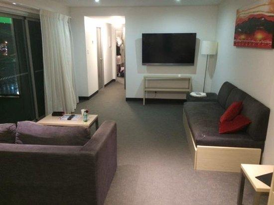 Jephson Hotel: Jephson Suite - lounge area