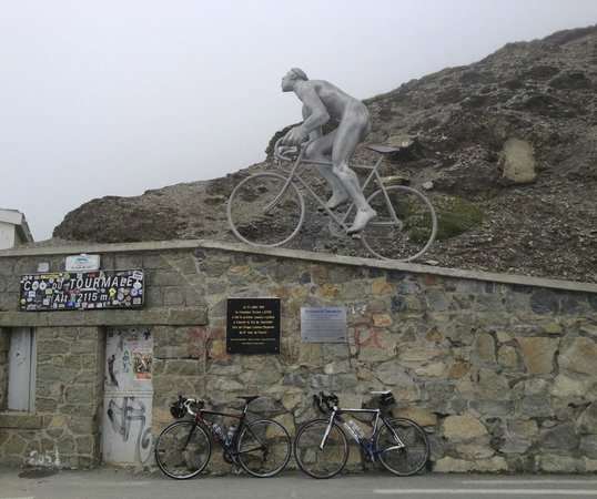 Col du Tourmalet : Finish