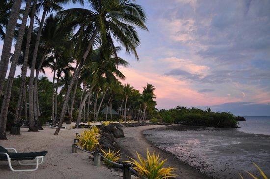 Wananavu Beach Resort: beach at Wananavu