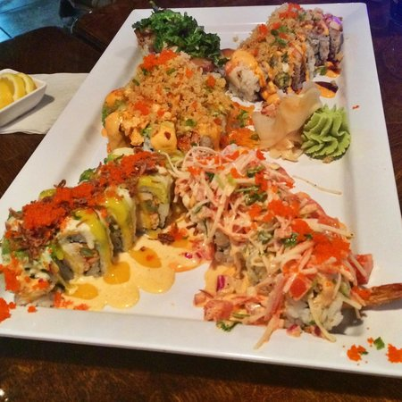 Pisces Sushi and Global Bistro: Some of our sushi rolls!