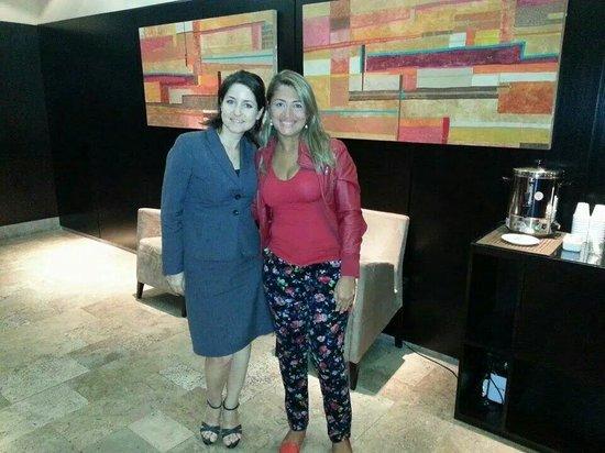 Palermo Place by P Hotels : A argentina mais simpática que conheci! Paula ;)