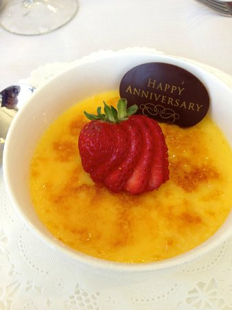 Prince Court Restaurant: Complimentary Dessert for a special celebration!