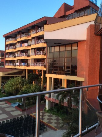 Be Live Experience Varadero: View from the 3rd floor bar