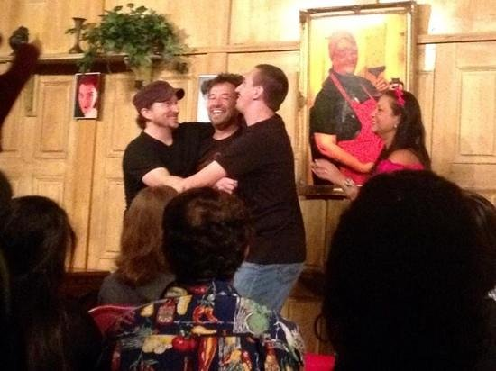 Mama's Comedy Show: The boys (Cousins Todd, Tony and Francisco) feeling da luv!