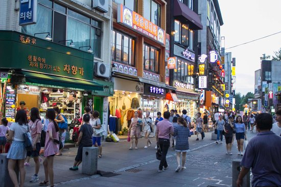 Insa-dong: Early evening in Insadong