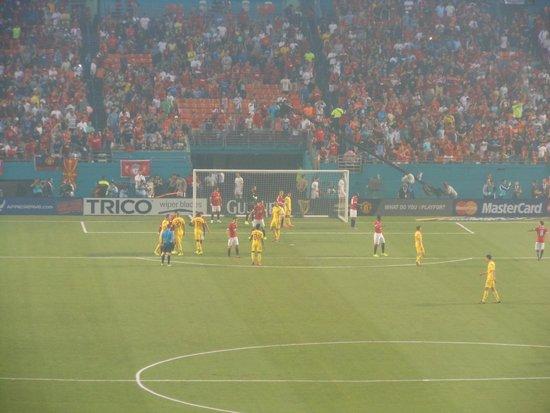 Sun Life Stadium: LIverpool v Manchester United