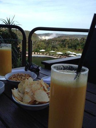 Sheraton Iguazu Resort & Spa: Desde la terraza del bar