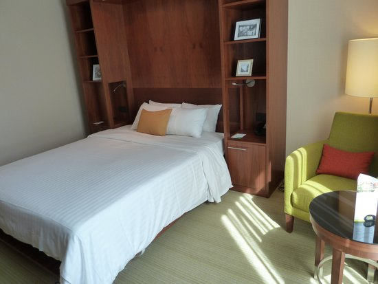 Courtyard Paris Arcueil: Room for solo traveller