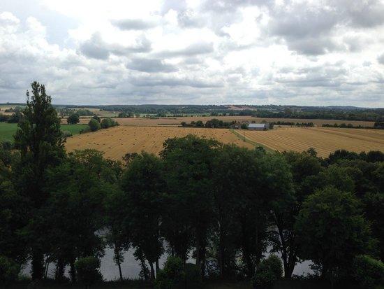 Chateau Valcreuse : Une vue magique