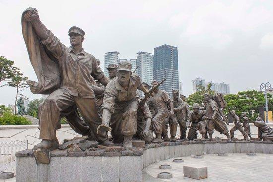 Monumento de Guerra de Corea: Monument