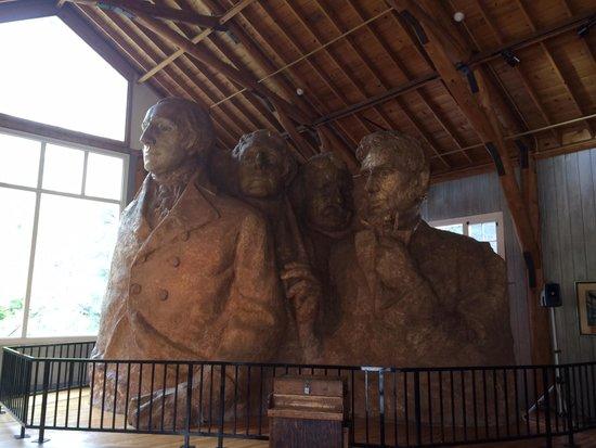 Mount Rushmore National Memorial: Artist vision