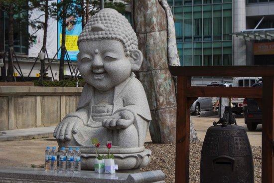 Jogyesa Temple: Baby Buddha