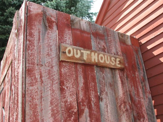 Vermont Country Store: Outhouse