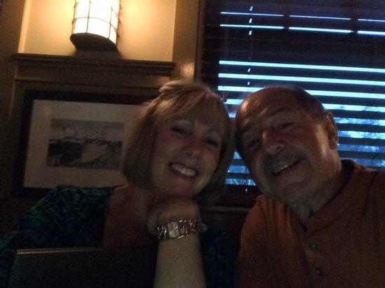 """Otter Cove Restaurant : """"Selfie"""" at the dinner table"""
