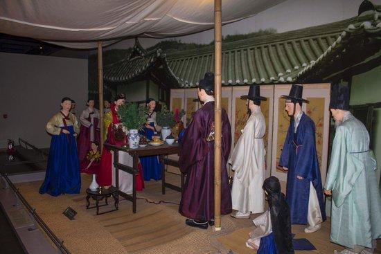The National Folk Museum of Korea: Wedding display
