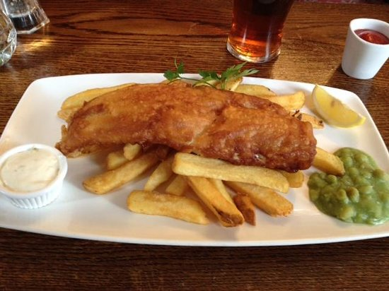 White Lion: Fish and Chips