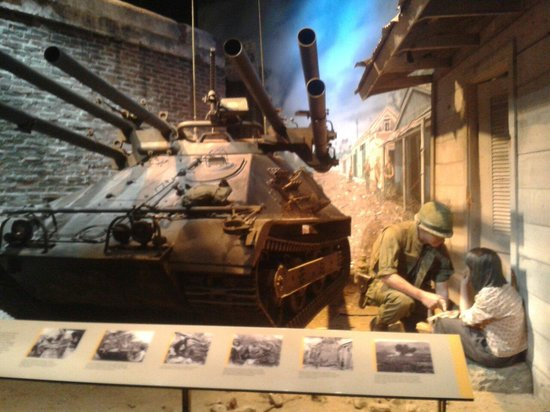 National Museum of the Marine Corps: Guerra in Vietnam