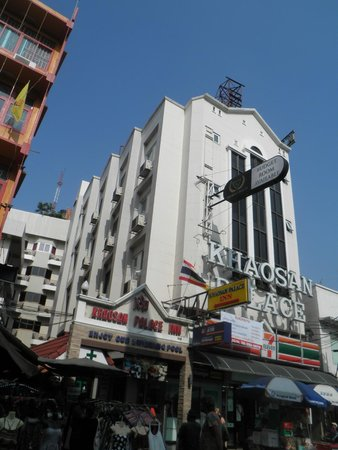 Khaosan Palace Hotel: 建物